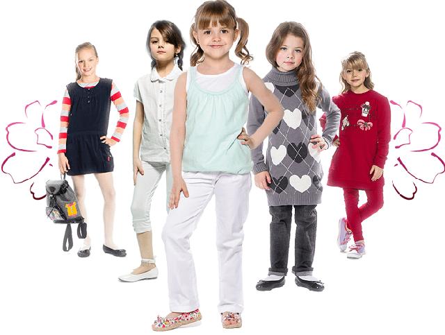 Малява - детская одежда для девочек оптом