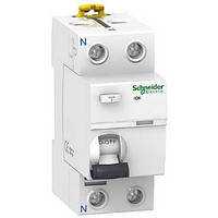 Дифференциальный выключатель (УЗО)  Schneider Electric серия Acti9 ilD K 1P+N, 25А, 30мА