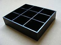 Коробка органайзер для пакетиков чая, 9 ячеек
