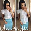 Костюм белая блуза+цветная юбка-карандаш, фото 10