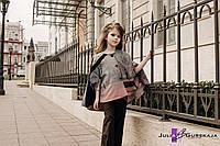 Детский кейп - пончо с карманами 1602/31 ЮГ