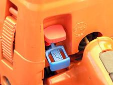 Комбінований важіль зупинки двигуна та підсосу