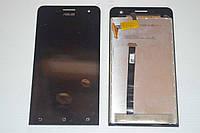 Оригинальный дисплей (модуль) + тачскрин (сенсор) для Asus Zenfone 5 A500CG A500KL A501CG (черный цвет)