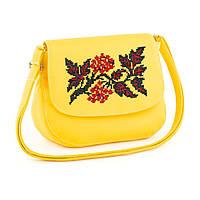 """Маленькая женская сумочка с вышивкой """"Виноградная лоза"""", фото 1"""