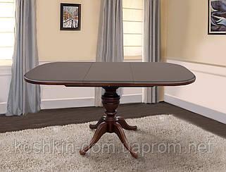 Стол обеденный Триумф Авангард светлый орех, тёмный орех 105(+40)*75 см