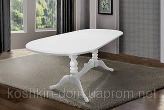 Стол обеденный Вавилон ваниль раскладной 150(+40)*90 см