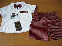 Детский летний нарядный костюм для мальчика   4 года Турция