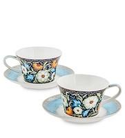 Чайные наборы на 2 персоны из костяного фарфора
