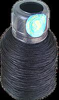 Нитка п/п Конус чорна, мала (375 текс)