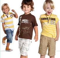 Футболки, майки и рубашки для мальчиков