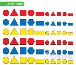 Набор для обучения Gigo Логические блоки Дьенеша 1027, фото 2