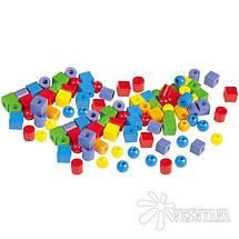 Набор для обучения Gigo Пластиковые бусы 1041-6R, фото 2
