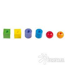 Набор для обучения Gigo Пластиковые бусы 1041-6R, фото 3