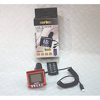 FM-модулятор FM-253 с автомобильной зарядкой (2,1А) (9333)