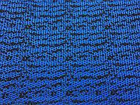 Обувная / сумочная ткань цвет сине-черный
