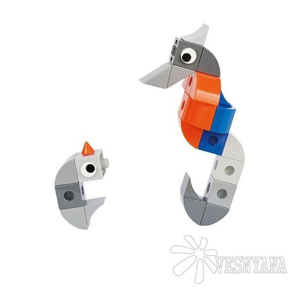 Конструктор Gigo В мире животных. Морской конек (3 модели) 7253