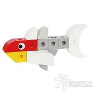 Конструктор Gigo В мире животных. Рыбка-мандарин (3 модели) 7254