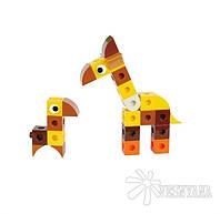 Конструктор Gigo В мире животных. Жираф (3 модели) 7256