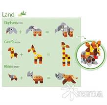 Конструктор Gigo В мире животных. Носорог (3 модели) 7257, фото 3