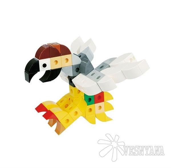 Конструктор Gigo В мире животных. Пеликан (3 модели) 7258