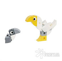 Конструктор Gigo В мире животных. Пеликан (3 модели) 7258, фото 3