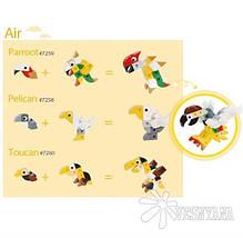 Конструктор Gigo В мире животных. Пеликан (3 модели) 7258, фото 2
