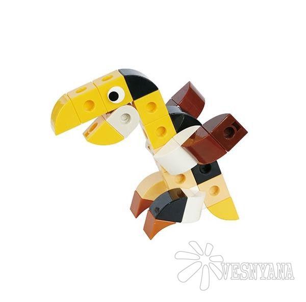 Конструктор Gigo В мире животных. Тукан (3 модели) 7260