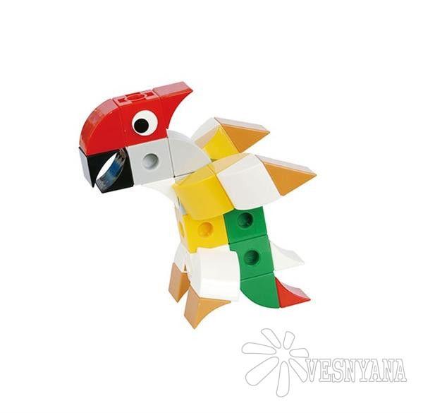 Конструктор Gigo В мире животных. Попугай (3 модели) 7259