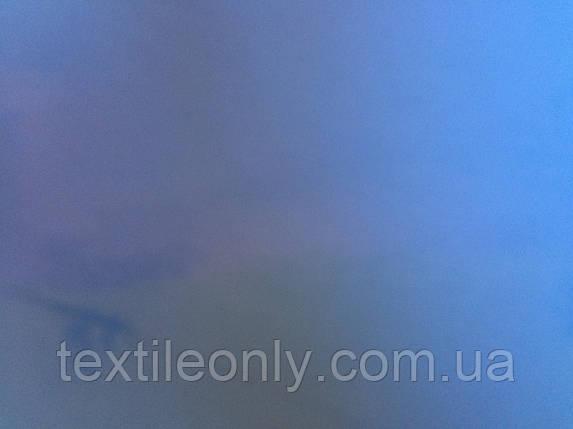 Искуственная кожа Руган (лак)  цвет синий, фото 2