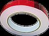 Скотч двухсторонній на пінній основі 18 мм*5 м(посилеий/ червоний)