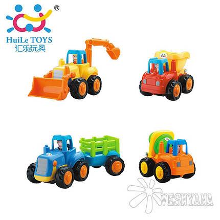 Игрушка Huile Toys Грузовичок (комплект из 4 шт) 326, фото 2