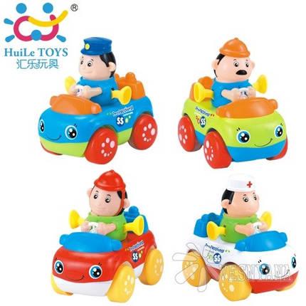 Игрушка Huile Toys Рабочая Машинка (упаковка 8шт.) 356C, фото 2