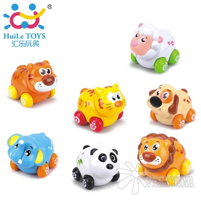 Игрушка Huile Toys Веселый зоопарк (упаковка 8шт.) 376