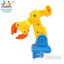 Игрушка-конструктор Huile Toys Строительная машина 566CD, фото 3