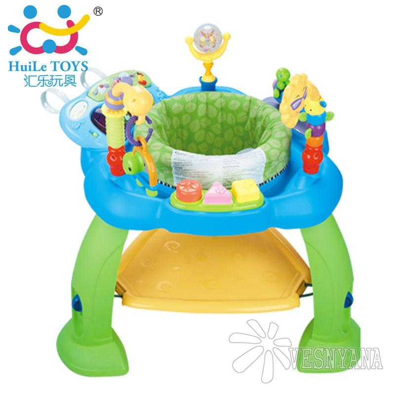9b811d94d254 Игровой развивающий центр Huile Toys Музыкальный стульчик (синий) 696 -  ВЕСНЯНА в Киеве