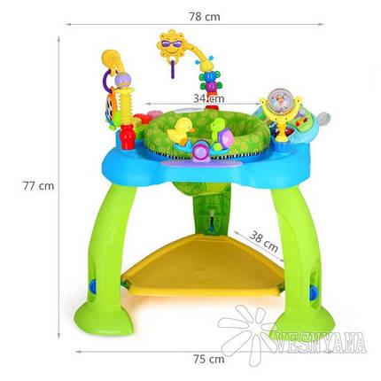 Игровой развивающий центр Huile Toys Музыкальный стульчик (синий) 696, фото 2