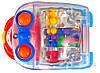 Игрушка Huile Toys Мультяшная машинка (упаковка Паровоз 3шт. + Грузовик 3шт) 706, фото 4