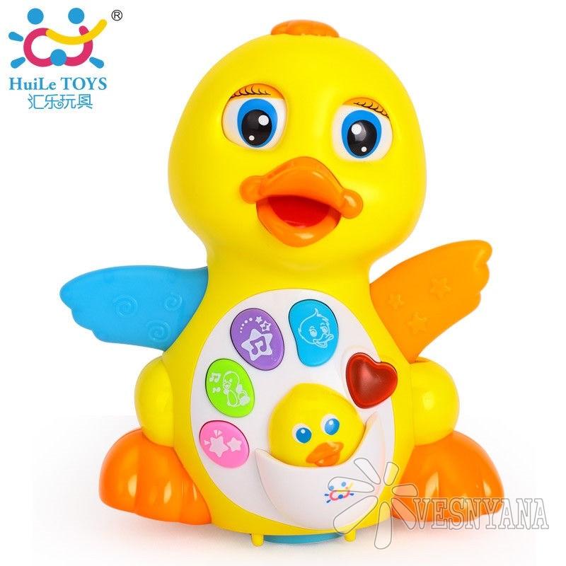 Игрушка Huile Toys Желтый утенок 808
