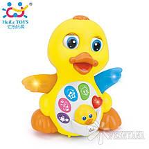 Игрушка Huile Toys Желтый утенок 808, фото 3