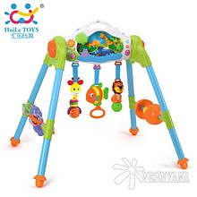 Ігровий розвиваючий центр 3-в-1 Huile Toys Маленький ліс 906
