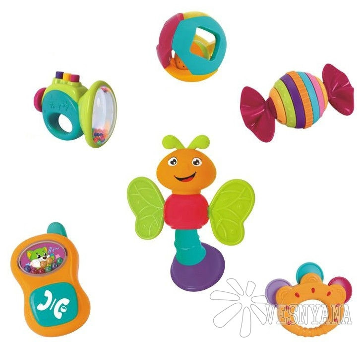 Набор погремушек Huile Toys 6 шт 939A
