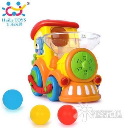 Игрушка Huile Toys Паровозик Ту-Ту 958, фото 2