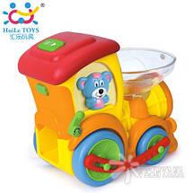 Игрушка Huile Toys Паровозик Ту-Ту 958, фото 3