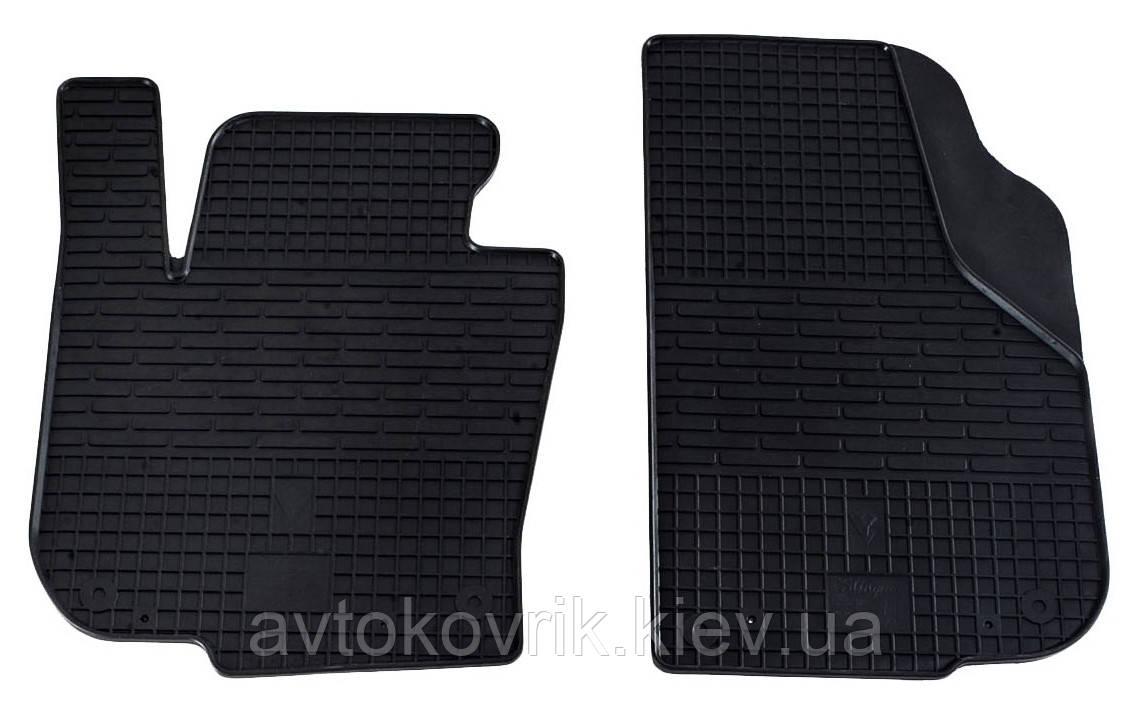 Резиновые передние коврики в салон Skoda Superb II (B6) 2008-2015 (STINGRAY)