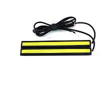Ходовые огни DRL - COB. 140ммx18x4. 2 шт.