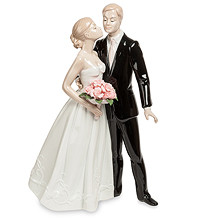 Свадебные статуэтки фарфоровые