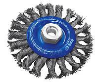 Щетка дисковая S&R 135554118, 115 мм, d 0.50, сталь