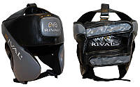 Шлем боксерский в мексиканском стиле Кожа RIVAL MA-6004 (серый, р-р регул.)