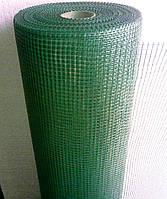 Сетка штукатурная фасадная зеленая,125 гр/м2
