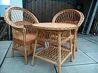 Дачная мебель плетеная из лозы